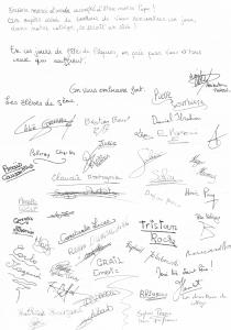 Lettres des jeunes au Pape 2
