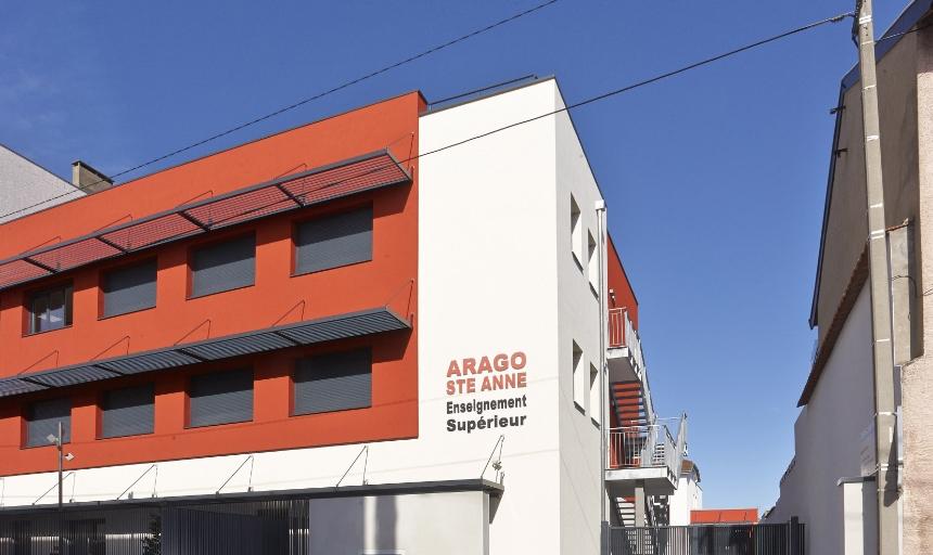 Enseignement Supérieur Centre de Formation Arago Sainte Anne